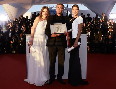 adele exarchopoulos jeremie laheurte split adele exarchopoulos picture 5 a photocall the 66th