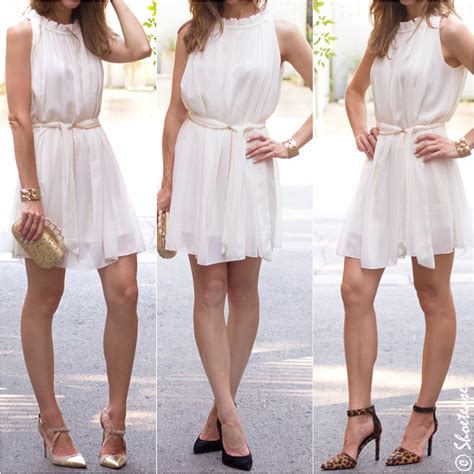shoes to wear with white dress