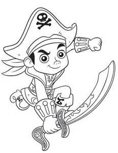 dibujos capit 225 jake pirata amigos colorear mi barquito