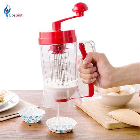 Manual Pancake Machine Cake Batter Mix Dispenser Ala Limited popular cupcake baking machine buy cheap cupcake baking