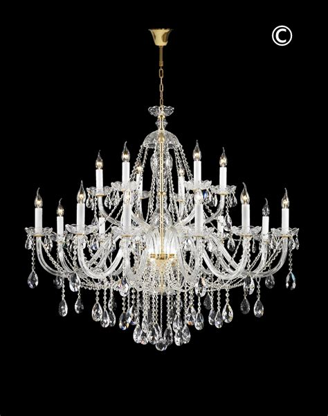 Chandeliers Australia Bohemian Brilliance Large 18 Arm Two Tier Chandelier