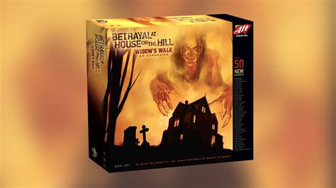 Hands On Betrayal At House On The Hill Widow S Walk Expansion Rs Up The Madness