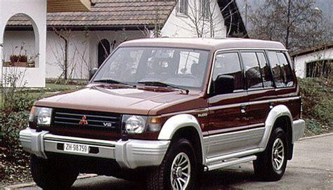 how it works cars 1991 mitsubishi pajero auto manual mitsubishi pajero 1991 1997 reviews technical data prices