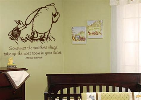 Classic Winnie The Pooh Wall Decals For Nursery 17 Best Images About Baby Nursery Quotes On Pinterest Cinderella Carriage Cricut Vinyl And