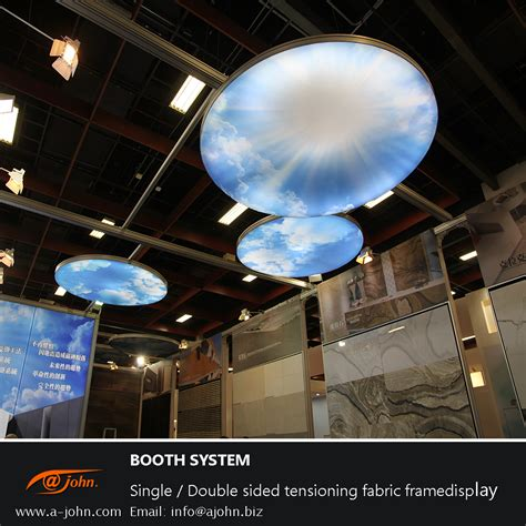 Ceiling Light Show Ceiling Light Box Customize Reusable Adjustable Display System Tool Less Led Build In