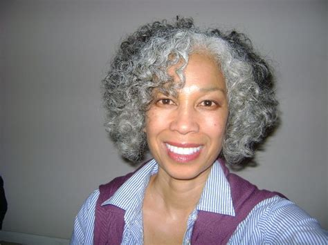 black hairstyles for gray hair natural hair styles with gray hair gray natural and
