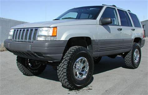 1998 jeep grand laredo lift kit 1992 1998 ez ride jeep grand 3 5 quot suspension