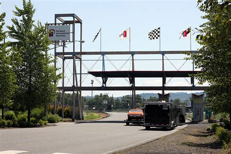 portland international speedway lights portland international raceway