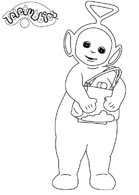 teletubbies coloring pages coloringpages1001 com