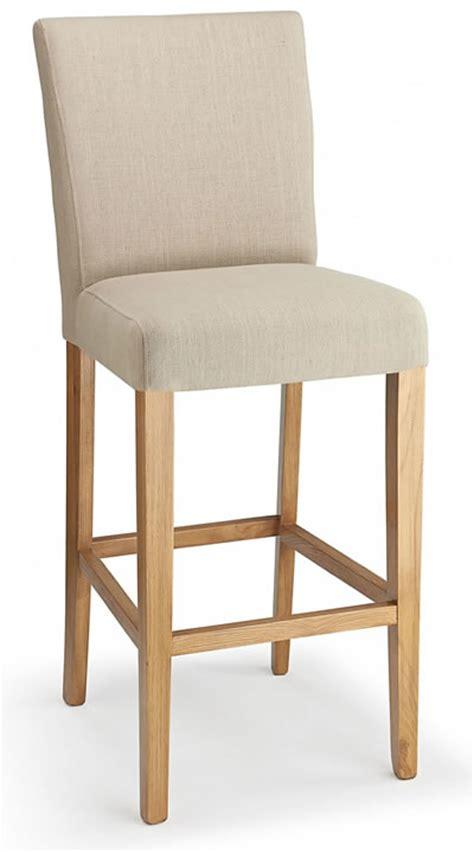fabric padded seat kitchen breakast bars stools