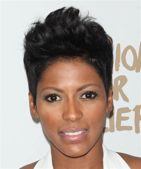 the today show tamara hall hair cut tamron hall short straight casual hairstyle black