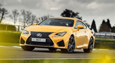 lexus yellow lexus rc f flare yellow