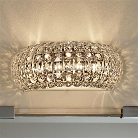 bathroom vanity lights with crystals arc bath light l shades by shades of light