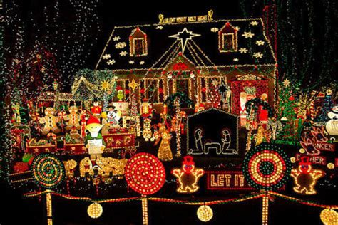 best decorated homes for christmas ultimate christmas house pictures photos and images for