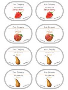 jam jar labels template jam label template free