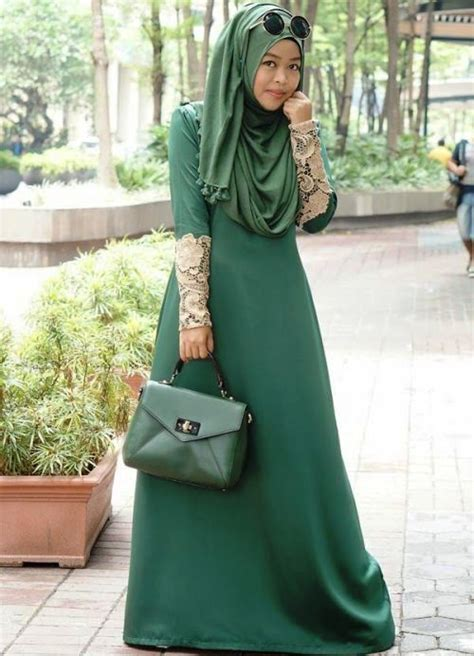 Gamis Batik Busui Baju Muslimah Drees Blouse Wanita Perempuan 14 model baju batik gamis wanita terbaru 2017 gambar busana