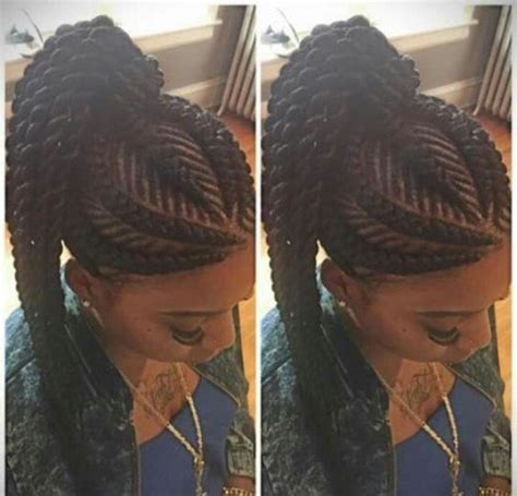 type of gana weaving nigeria nd braids 50 ghana braids styles herinterest com