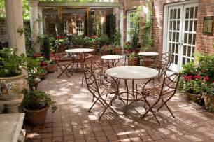 Terra Cotta Rugs Manhattan Courtyard Garden Design Mediterranean Patio