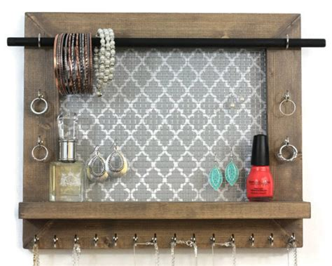 Handmade Jewelry Organizer - 17 simple but awesome handmade jewelry organizer ideas you