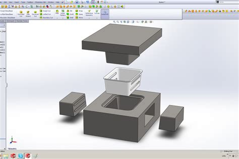 Solidworks Tutorial Mold | tutorial solidworks mold tools
