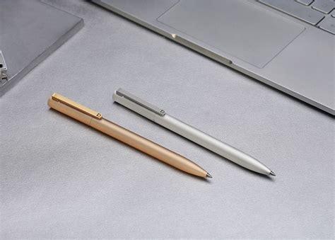 Xiaomi Mi Pen Refill Pulpen Metal Signature 3pcs xiaomi mi jia metal signature pen pulpen original golden jakartanotebook