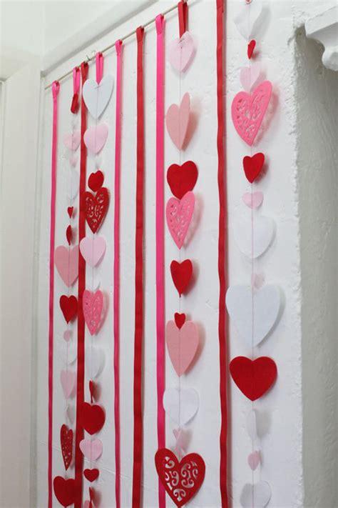 pink valentine day decorations home design  interior
