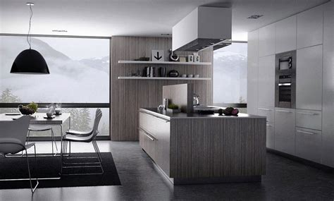 kitchens  trend sleek shades  gray remodeling
