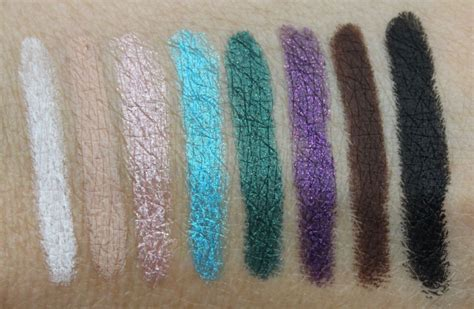 Jordana 12hr Made To Last Eyeshadow Pencil Stay On Black jordana 12 hr made to last eyeshadow pencil swatches and
