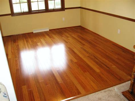Easy Caring Dark Brazilian Cherry Hardwood Floors