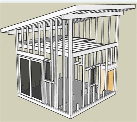 Shed Roof Cabin With Loft by Interior Shed Roof Loft How To Build A Small Shed