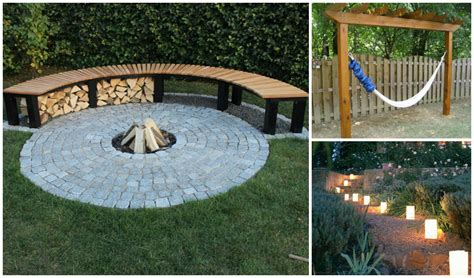 diy backyard design summer time backyard diy projects you ll go crazy for