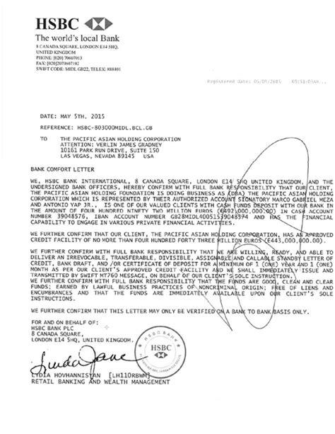 bank comfort letter ripoff report verlin gradney complaint review temecula