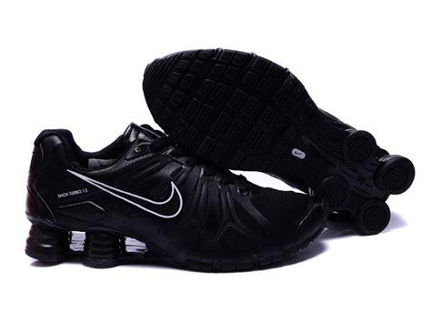 store value mens nike shox black all running shoes turbo 13