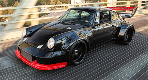 modified porsche 911 this modified porsche 930 turbo is what dreams