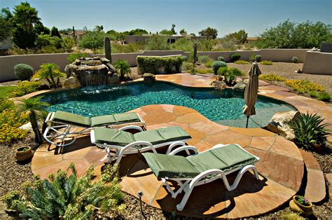 landscaped backyards with pools backyard landscaping pool outdoor furniture design and ideas