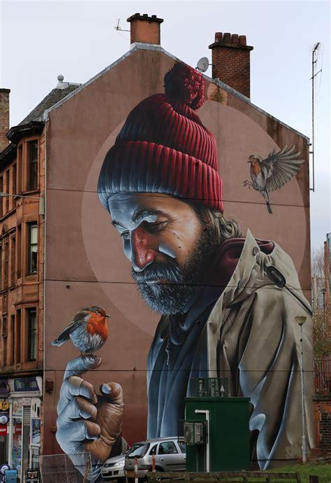 graffiti wallpaper glasgow glasgow punter street art glasgow murals update