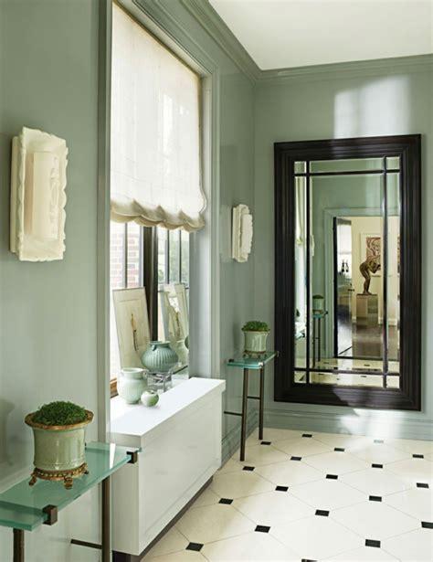 ottomane grün wohnzimmereinrichtungen ideen