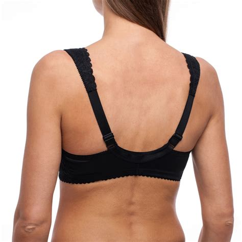 Front Closure Wireless Bra frugue bra front closure cup coverage support non