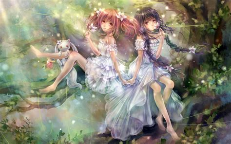 anime fantasy fantasy art magic anime girls hd wallpaper jpg 2560 215 1600