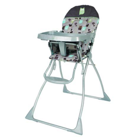 cosco flat folding high chair cosco flat fold portable highchair hoot walmart toronto