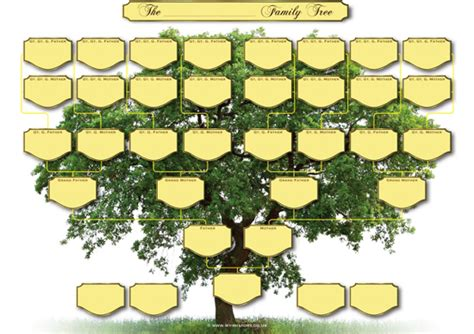 Free Online Floor Plan Generator 5 generation family tree chart