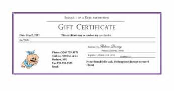 babysitting gift certificate template coupons becca s babysitting