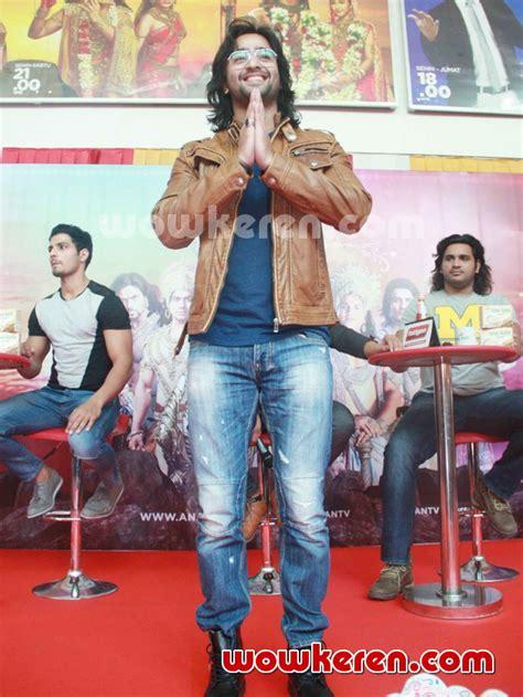 film mahabharata indosiar foto shaheer sheikh hadir di jumpa pers mahabharata show
