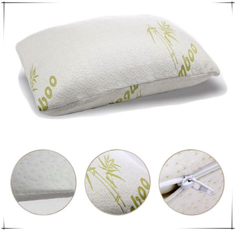 Memory Foam Bamboo Pillow by Bamboo Pillow Coolmax Memory Foam Pillow With Bamboo Cover