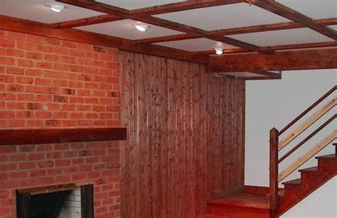 Ideas For Finishing Basement Walls Diy Basement Wall Finishing Panels Ideas 3 Spotlats