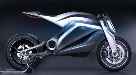 audi bicycle audi shows very cool motorcycle concept autoevolution