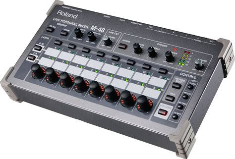 Mixer Monitor Audio roland m48 43 input live personal mixer