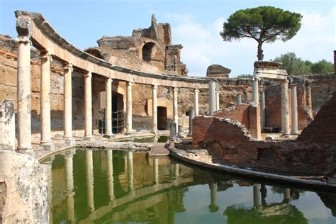 Ancient Roman House Floor Plan villa adriana hadrian s villa in tivoli greenparkmadama