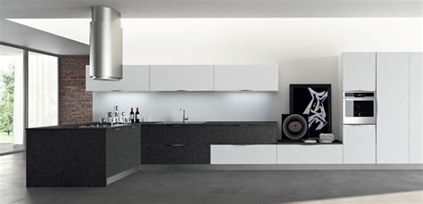 cucine nere moderne top moon with cucine moderne bianche e nere