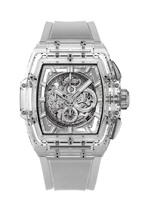 Hublot Transparan transparency in timekeeping 3 new sapphire cased watches